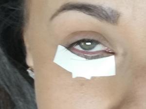 Rachel Before Eyelash Extensions - Blink Charleston